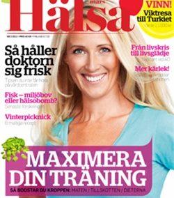 Zoë in Hälsa Magazine, March 2012