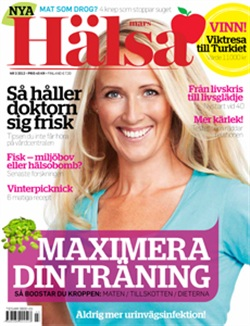 Zoë in Hälsa Magazine, March 2012