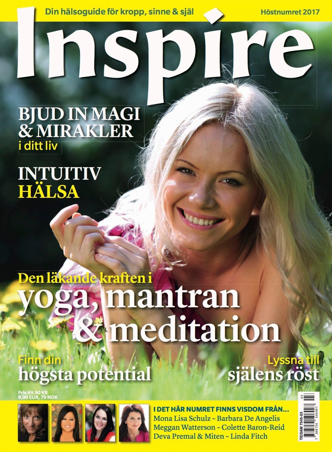 "Zoë's column ""Ask Zoë"" in Inspire Magazine, September 2017"