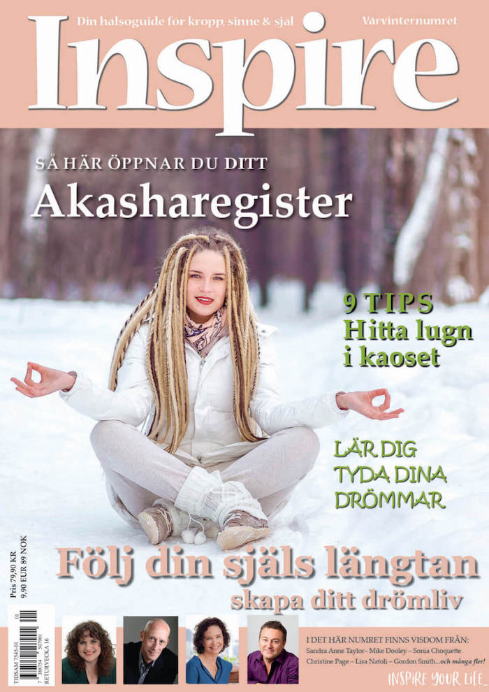 "Zoë's column ""Ask Zoë"" Inspire Magazine, February 2019"