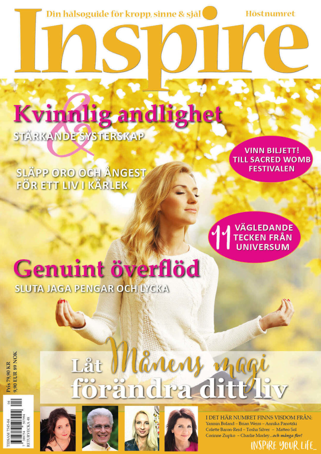 Zoë's column, Inspire Magazine, September 2019