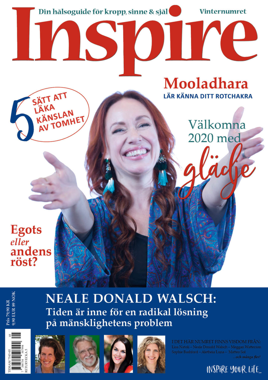 Zoë's Column, Inspire Magazine, December 2019