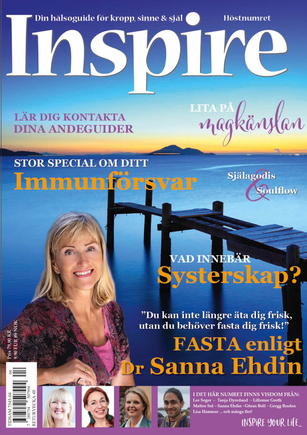 Zoë's column, Inspire Magazine, September 2020