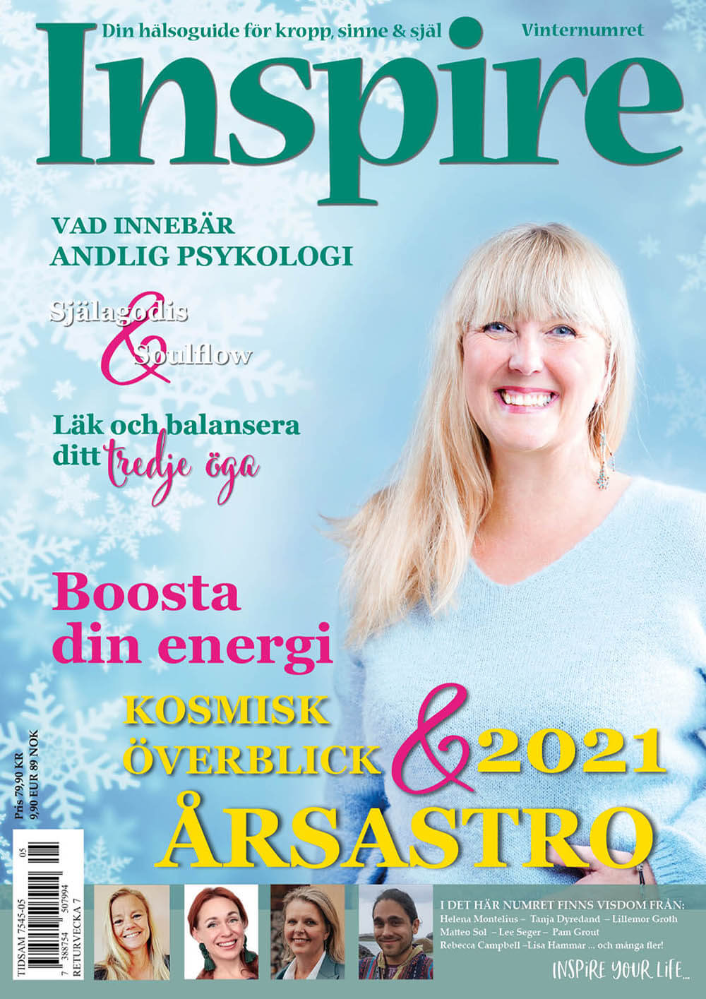 Zoë's column, Inspire Magazine, December 2020
