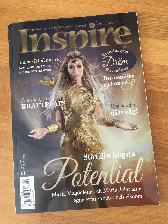 Zoë's column, Inspire Magazine, April 2021